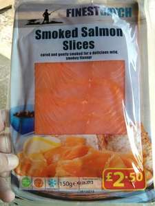 Smoked salmon £4 for 2 packs @ FarmFoods