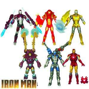 Iron Man: Set of 6 Assorted Figures £17.94 @ Home Bargains