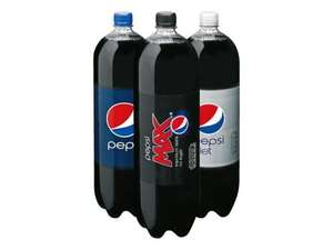 Pepsi Max, Regular or Diet - 2L 89p @ Lidl