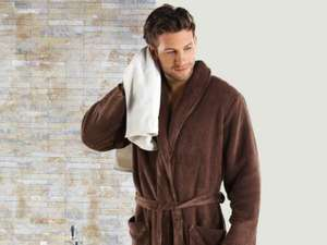 bathrobe mens and womens available £9.99  at lidl