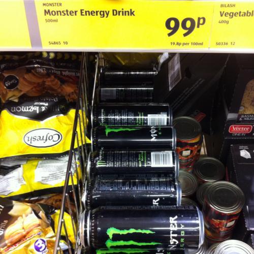 Monster Energy Drink - 99p @ Aldi
