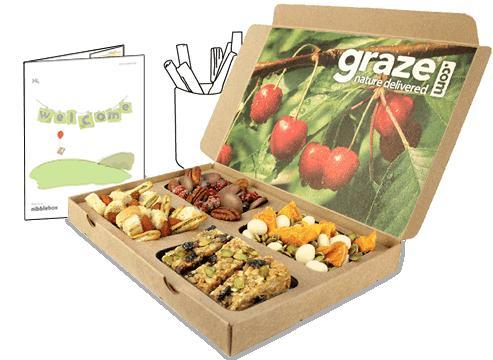 Grab yourself a tasty free graze box @ graze.com