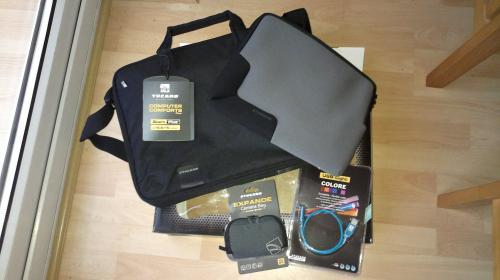 """15.6"""" Laptop Bag, Tablet Case, Camera Case & USB Light £3 @ B&M Bargains"""