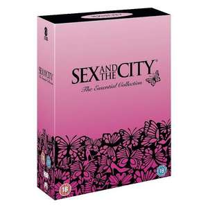 Sex And The City - Complete season 1 - 6 - DVD Boxset from ASDA free delivery - £25