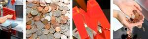 CASH YOUR COPPER COINS FREE @ METRO Bank Branches