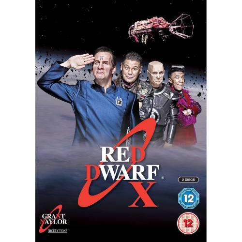 Red Dwarf x DVD - Amazon.co.uk - £7.50