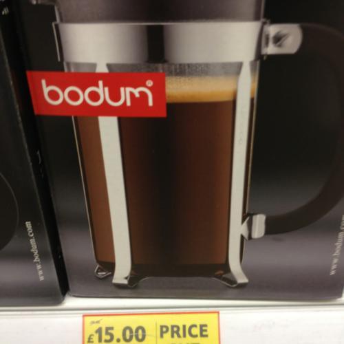 Bodum Caffettiera £15 8 cup @ Tesco