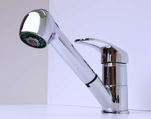 Modern Kitchen Sink Pull Out Mixer Tap £16.79 FREE Shipping From HotDealTaps @ eBay