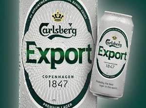 Carlsberg Export 4 x 440ml cans £2.99 at Lidl, available from Thursday