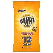 Mini Cheddars 12 pack Half Price at £1.49 at Lidl, from Thursday