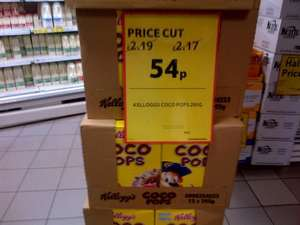 295g Coco Pops - 54p - Tesco Express (Great Portland Street)