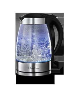 Russell Hobbs illuminating glass kettle £29 instore at Morrisons