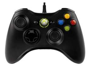 Microsoft Xbox 360 Controller Wired for PC/XBOX 360  £16.98 @ Ebuyer