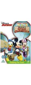 Disneys Mickey Mouse Clubhouse - Mickey's Great Outdoors - DVD for £3.00 @ ASDA Direct includes 100 DMR points