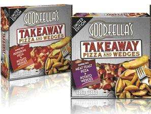 Goodfellas Takeaway Pizza and Wedges Cheese/Pepperoni/Meat Feast 965g £1.88 @ Morrisons