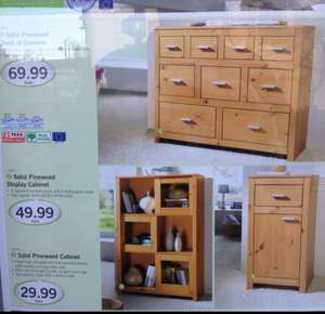 3 Piece Solid Wood Furniture Set for £149.97 at Lidl