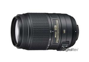 Nikon AF-S DX NIKKOR 55-300mm F4.5-5.6 G ED VR £150! At Digitalrev