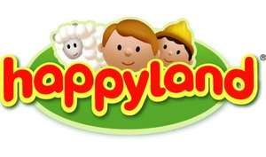 Happyland 3 for 2 and also 20% off at mothercare