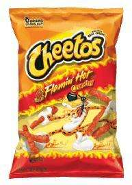 Crunchy Flamin' Hot Cheetos, 1.25oz x 44 bags.£15.49 including delivery @ American sweets