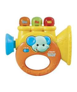 V tech baby toot toot trumpet Was £9.99 Now £3.99 (using code) @ Mothercare