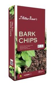 J. Arthur Bower's Bark Chips (for garden) £3.99 for 100 litres at Hillier Garden Centres (with voucher)