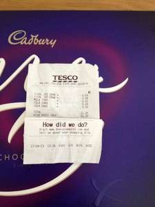 Cadbury's Milk Tray 600g 1p Tesco In-Store