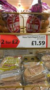 New York Bagels @ Morrisons 2 for £2