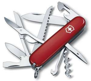 Victorinox Swiss Army Huntsman Pocket Knife £16.47 @ Amazon