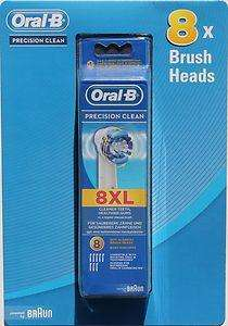 8x Oral-B Precision Clean Toothbrush Heads - £14.99 @ Costco