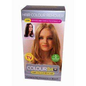 Colour B4 Hair Colour Remover Extra Strength For Darker Hair Colours Amazon £2.58  + £2.25 UK delivery sold by Thehealthcounter.