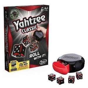 Yahtzee Classic Dice Game was £10 now £6.60 del to store @ Tesco Direct