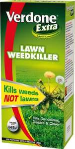 Verdone Extra 1L Liquid Concentrate Lawn Weed Killer £9.99 delivered @ Amazon