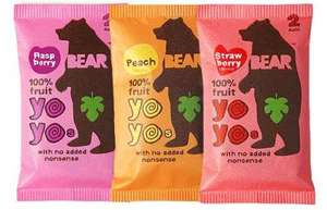 Bear Yo Yo's Fruit Snacks - 3 for the price of 1! @ Sainsbury - In Store & Online - 3 for 50p