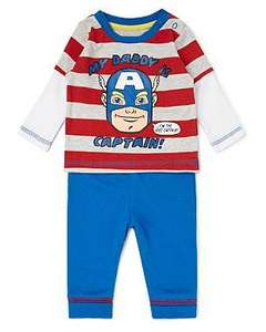 Captain America Baby Outfit £4 @ Asda
