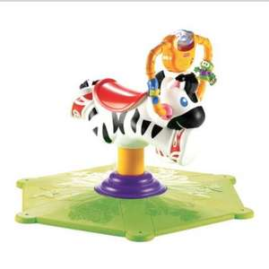 Fisher price bounce & spin was £43.97, then £27 now £13.75 @ Tesco in store