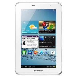 Samsung Galaxy Tab 2 Tablet, 8GB, Wi-Fi, 1GHz Dual-Core, 7-inch, 2 year free guarantee and 6 month free broadband (lots of catches and small print) £149 @ John Lewis