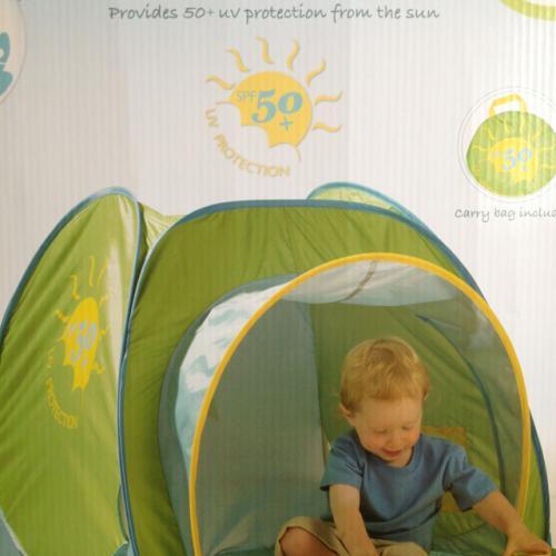 £15.00 at Asda UV sun tent