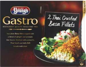 Young's Gastro Thai Crusted Basa Fillets