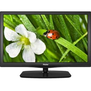 Haier LET26T1000 Black - 26 Inch HD Ready LED TV with Integrated Freeview, 2 HDMI, 1 USB Connection and USB Recording Function = £144.99 @ 123Electrical