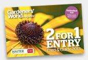 2 for 1 gardens to visit for 1 year (magazine purchase) @ gardeners world