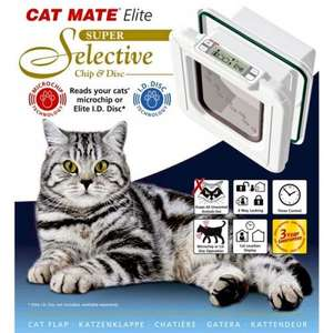 cat mate  super selective  microchip cat flap with timer £66.54 @ petsgodirect.