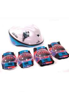 Star Wars Clone Wars Boys Bike helmet + Knee/Elbow pads, £2.49 (+£3.99pp any amount ordered) Sports Direct Ebay outlet