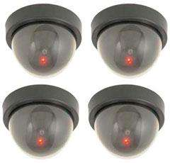 Dummy CCTV Camera with LED lights 99p @ 99p Stores