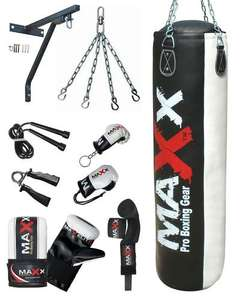 Pro Max 13 PC Boxing Punch Bag SET 5FT HEAVY FILLED,GLOVES,BRACKET MMA UFC PUNCH on Ebay posted by maxx-traders, £24.99 + £17 delivery (changed from £15)