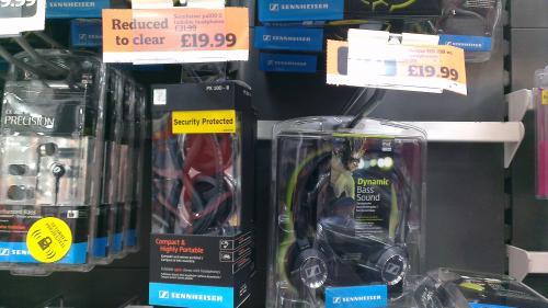 Sennheiser Px100 ii £19.99 instore @ Sainsbury's (Bishop Auckland)