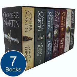 A Song of Fire and Ice 7 Book Collectible Box Set | £25.98 delivered | The Works