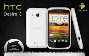 HTC Desire C ...WHITE... NOW ... £79.99 ... Incls £10 Top-Up ... @ Orange ...