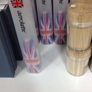 Aerolatte Milk Frother Union Jack Style £1.99 in Home Bargains