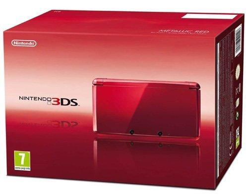 Nintendo 3DS Red £102.00 @ Amazon Italy