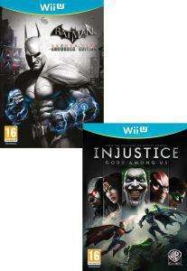 Injustice Gods Among Us AND Batman Arkham City (Wii U) - £35.98 Using Code - HUTPRE10 @ The hut